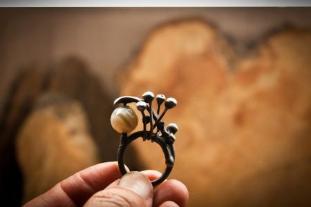 Кольцо металл