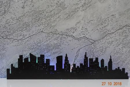 Город с подсветкой Светланы Катович