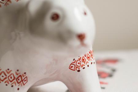 Керамический мишка