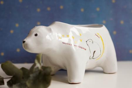 Керамические медведи