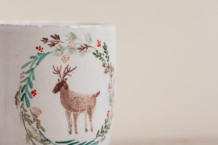 Чашка с оленем