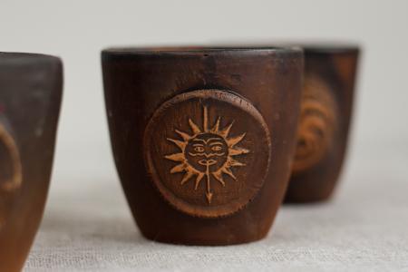 Мартеллы — Керамические стаканы
