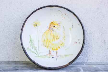 Миска цыпленок