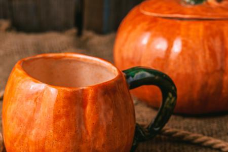 Керамическая тыква для выпечки
