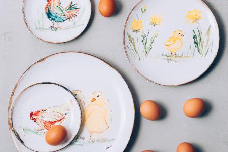 Пасхальная коллекция посуды