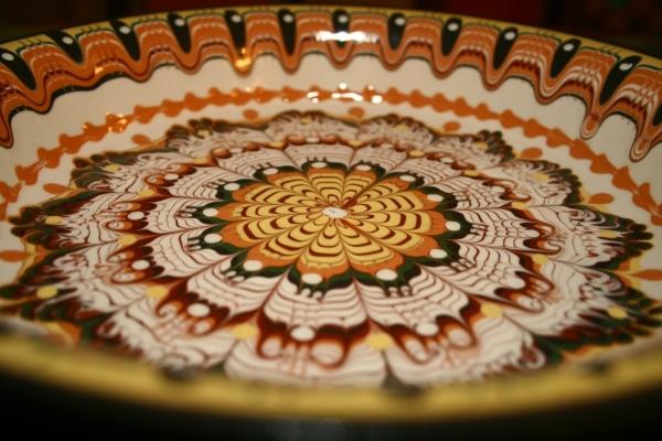 Мастер класс роспись тарелок 5